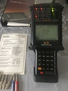 Sunrise Telecom Sunset Ocx Handheld Testing Analyzer Accessories Free Shipping