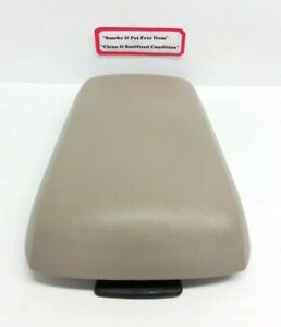 2007 2010 Ford Edge Center Console Armrest Lid Top Cover Beige Oem