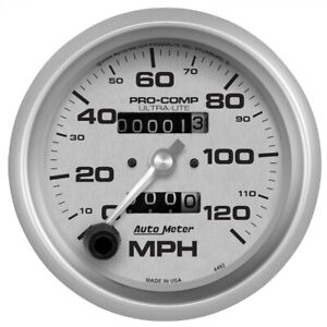 Autometer 4492 Ultra lite In dash Mechanical Speedometer