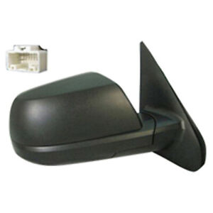 To1321252 New Right Door Mirror Power With Cold Climate Spec Heated Glass Tex