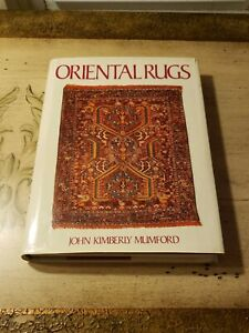 Antique Oriental Rugs Mumford Design Persia Rug Weavings Book 1981 Hc Dj