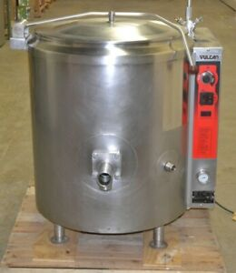 Vulcan 40 gallon Steam Jacketed Kettle K40gl Nat Gas Tested Year 2015