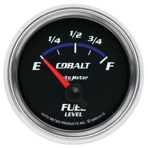 Autometer 6113 Cobalt Electric Fuel Level Gauge