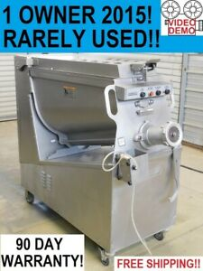 2015 Hobart Mg2032 1 Owner Commercial Butcher Shop Meat Grinder Mixer Extruder