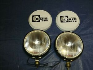Cibie Oscar Iode Plus Fog Lamps Driving Lights With Covers 190 7 Rally Lights