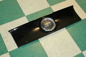 note 13 14 Mustang Black Rear Back Trunk Smooth Finish Panel Moulding Oem