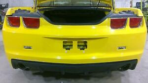 2010 2013 Chevy Camaro Complete Rear Bumper Assembly Yellow 9414 Oem