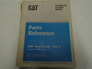 Caterpillar 988b Wheel Loader Parts Manual 3408 Engine Used Factory Oem Deal