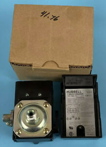 Hubbell 69jg109220r Air Compressor Pressure Switch 1 Port 100 125 Psi New In Box