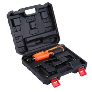 Ridgeyard 3 8 Electric Ratchet Wrench Tool W battery Charger Kit 12v Cordless