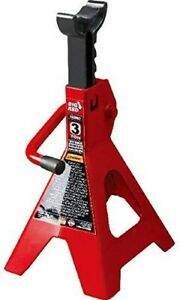 Torin Big Red Steel Jack Stands 3 Ton 6 000 Lb Capacity 1 Pair