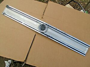 Buick 1965 Special Rear Tail Panel Chrome Trim Moulding