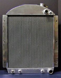 1937 1946 Chevy Truck Aluminum Radiator 38 39 40 41 For A Ls Motor Made In Usa