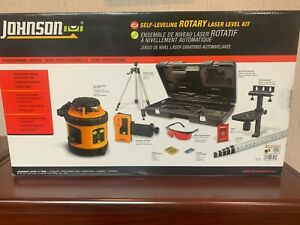 Johnson Self Leveling Rotary Laser Level Kit 40 6517 New