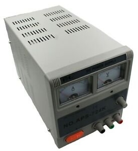Variable 2 24v Dc 7a Analog Switching Bench Power Supply