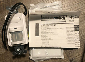 Nib Sensor Switch Wsd wh Motion Detector Switch 120 277vac 1200w 1 4hp