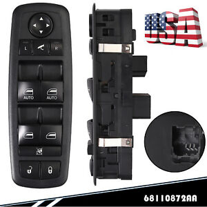 Power Window Switch For 2010 2016 Chrysler Town Country Dodge Grand Caravan