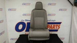 17 Toyota Highlander Front Right Passenger Power Seat Gray Leather