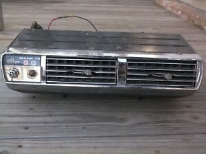Old Vintage Allegro Mark Iv Under Dash Ac Air Conditioner Unit John E Mitchell