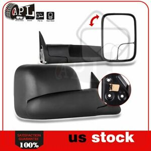 Power Heated Tow Mirrors For 1998 2001 Dodge Ram 1500 1998 2002 2500 3500