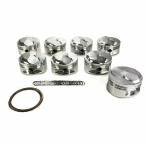 Je Piston 258249 Big Block Open Chamber Dome Top Piston Forged 4 56 Inch Bore