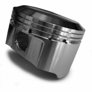 Je Pistons 194340 350 400 Standard Flat Top Pistons Forged 4 165 Inch Bore New