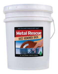 Workshop Hero Metal Rescue Rust Remover 5 Gallon Pail P n Wh570295