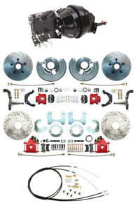 Dodge Mopar 12 Front Power Disc Brake Conversion 834 Rear Disc Kits