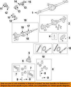 Jeep Chrysler Oem 07 17 Wrangler Rear Differential Axle Seals 68003270aa