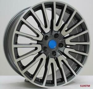 21 Wheels For Bmw 528i 528i X drive 2012 16 5x120 Staggered 21x8 5 10