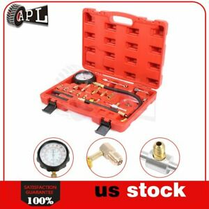 Auto 0 140psi Fuel Injection Pump Pressure Tester Test Pressure Gauge Kit