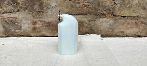 Antique Odol Patented White Milk Glass Tooth Powder Bottle Flask
