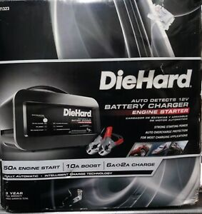 Diehard Auto Detects 12v Battery Charger Engine Starter 71323