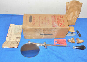 1952 1953 Ford Mercury Pass Car Nos Lh Remote Control Outside Rear View Mirror
