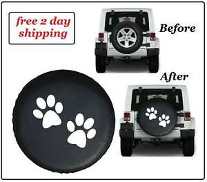Durable Weatherproof Wheel Protector Tire Cover For Jeep Wrangler Sahara 32 33