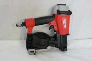Milwaukee 7220 20 Pneumatic 1 3 4 15 Degree Coil Roofing Nailer New