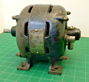 Antique Original Ge Open Face Electric Motor 120v Ac 1 6hp Works Gorgeous
