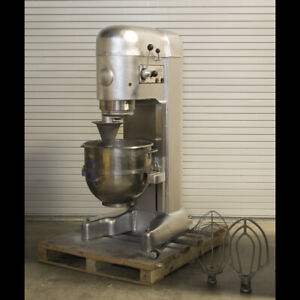 Hobart M802 80qt Industrial commercial Mixer 230v 3p 2hp 1976 Tested Good