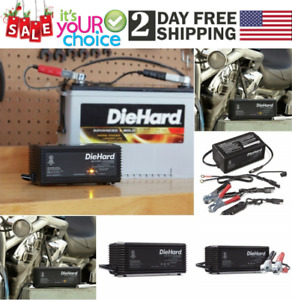 Auto 6 12v Shelf Smart Battery Charger Maintainer For Car Motorcycle Airplane