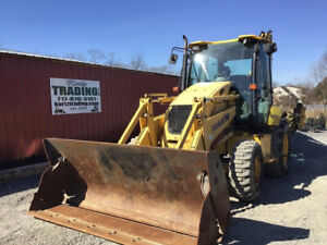 2008 Komatsu Wb146 8 4x4 Tractor Loader Backhoe W Cab Extend a hoe 3800hrs