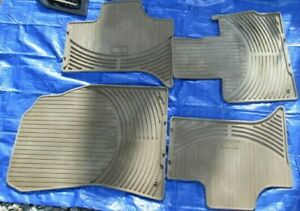 Oem Bmw Tan Floor Mats 2000 06 Fits Bmw X5 Complete Set Of 4 All Weather Rubber