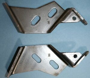 1953 1954 1955 Corvette Convertible Top Footman Straps 1 Pair Originals Rare