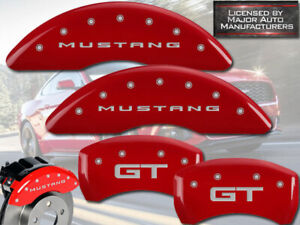 2015 2019 Ford mustang Gt Ecoboost Perf Front Rear Red Mgp Brake Caliper Cover