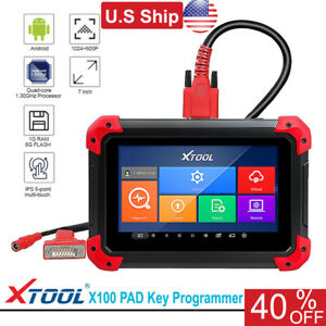 Usa Ship Xtool X 100 Pad Auto Programmer Supports Oil Reset Odometer Adjustment