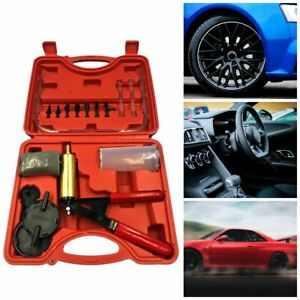 Brake Fluid Bleeder Oil Change Hand Held Vacuum Pistol Pump Tester Kit Kw