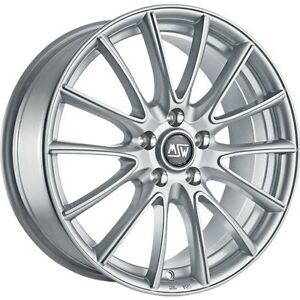 Msw Alloy Wheels Renault Twingo 3 16 Inch Silver By Oz Msw 86 Whole Set