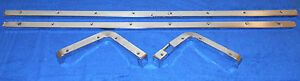 1965 1966 Mustang Gt Shelby Orig Fastback Fold Down Seat Curved Panel Trim Set