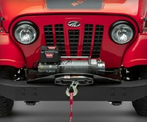 Roxor Warn Winch hd Bumper With Mounting Plate 0000aua00621n