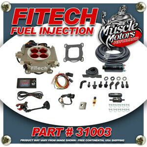Fitech Go Street Efi Fuel Injection System Master Kit Inline Fuel Pump 31003