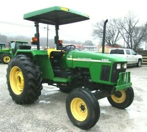 2004 John Deere 5303 Tractor 64 Hp free 1000 Mile Delivery From Kentucky